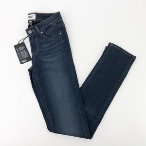 PAIGE Blue Skyline Skinny Leg Jeans